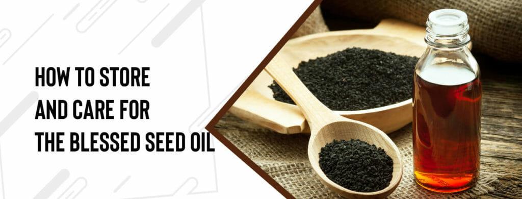 black seed oil care