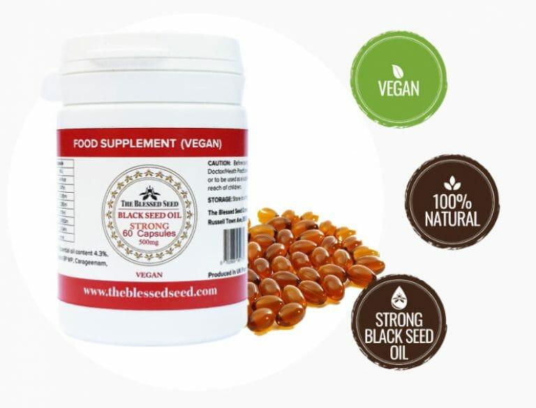 Black Seed Oil Strong Vegan Capsule
